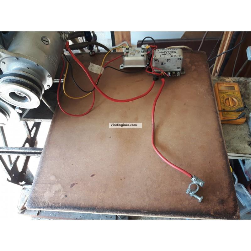 Alternator Wiring Diagram On Alternator Wiring Diagram Delco Remy