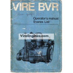 Vire 6 BVR Manual  Installation, Operation, Parts