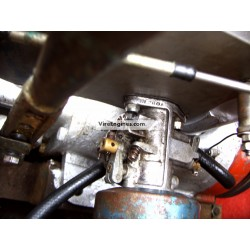 refurbished carburettor fitted