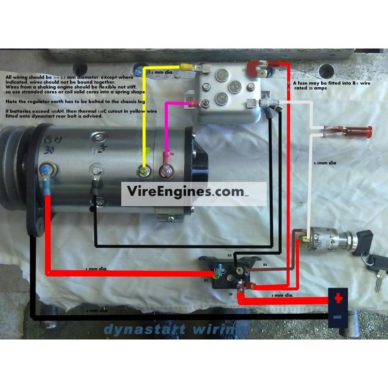 Siba Dynastart Wiring Diagram
