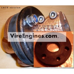 VIRE 6/7/12 Gearbox RUBBER COUPLING SET - (Late Ver)