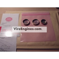 VIRE 12 Core Plug set (5) BZP Finish